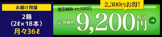 定期価格9,200円税込