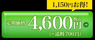 定期価格4,600円税込